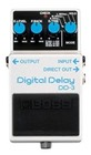 Boss DD3 Digital Delay Mike McCready Pedal