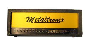 metaltronix m1000 amplifier head