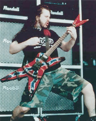 Dimebag Darrell of Pantera Guitar Rig and Equipment