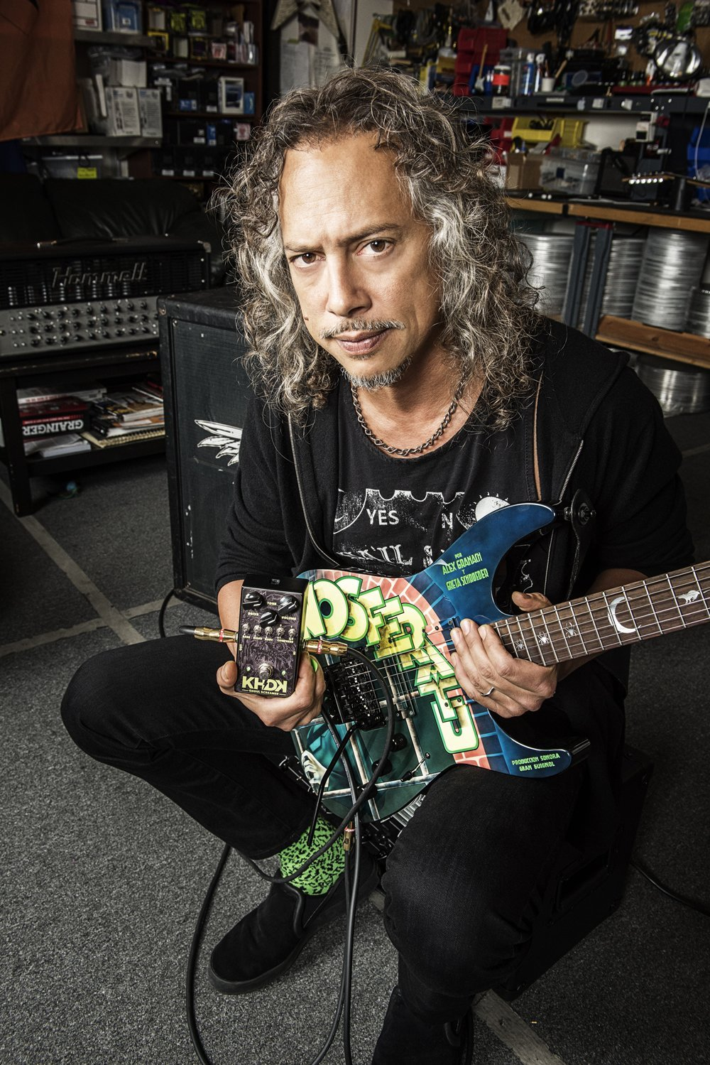 kirk hammett guitar rig guitar. Black Bedroom Furniture Sets. Home Design Ideas