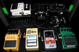 Jim Root Pedalboard Stone Sour