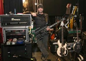 synyster gates live rig