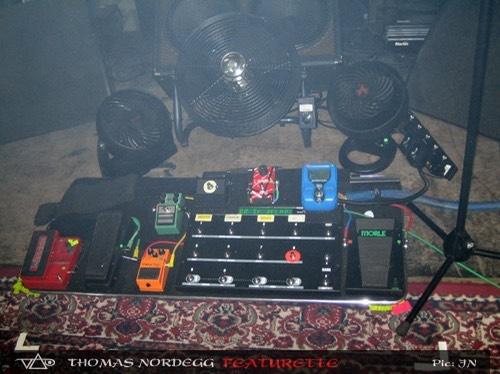 Steve Vai pedalbard