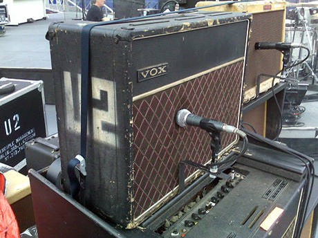 U2 The Edge 1964 Vox AC30