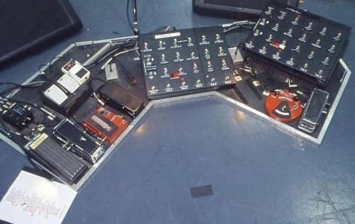 U2 The Edge Pedalboard Guitar Rig
