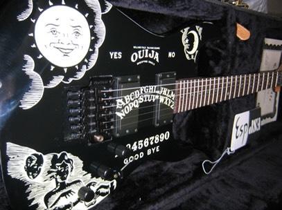 Kirk Hammett ESP Ouija Guitar